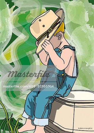 Illustration of Little Boy