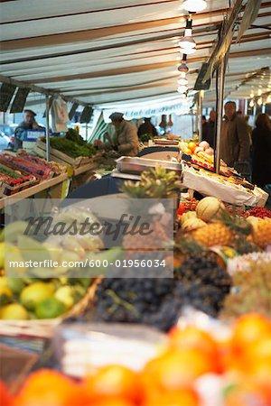 Fruit at Market, Paris, France