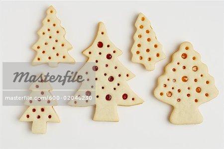 Christmas Shortbread Cookies Stock Photo Masterfile Premium