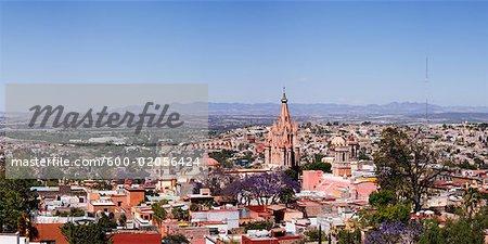 City Skyline, San Miguel de Allende, Guanajuato, Mexico