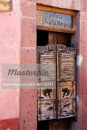 Cantina El Gato Negro, San Miguel de Allende, Guanajuato, Mexico