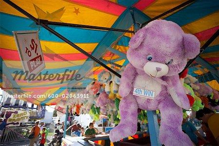 Fairground prizes for carnival games