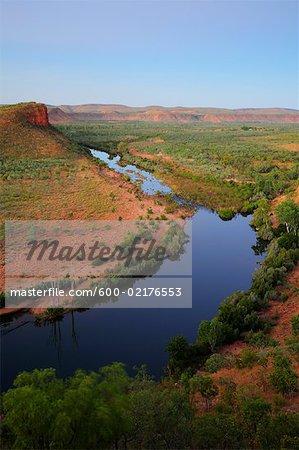 The Pentecost River and Cockburn Ranges, Kimberley, Western Australia, Australia
