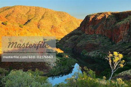 Ord River and Carr Boyd Ranges, Kimberley, Western Australia, Australia