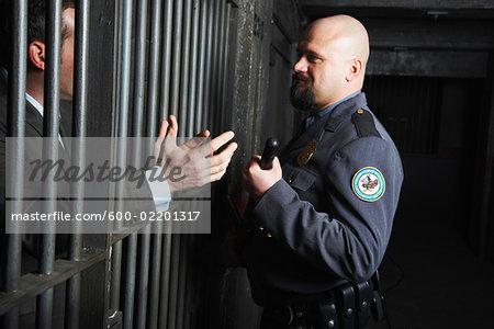 Prisoner Talking to Guard