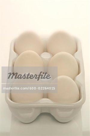 Six Eggs in a Carton