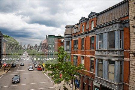 Street Scene, Chicago, Illinois, USA