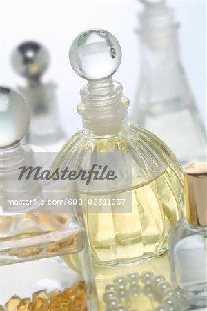 Still Life of Bath Products