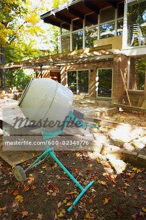 Construction on Home, Toronto, Ontario, Canada