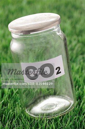 Jar of Carbon Dioxide
