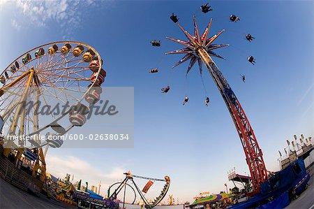 Fairground and Amusement Park Rides, Toronto, Ontario, Canada
