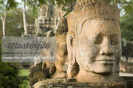 South Gate, Angkor Thom, Angkor, Cambodia
