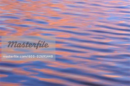 Sunlight Reflected on Water, Ushuaia, Argentina