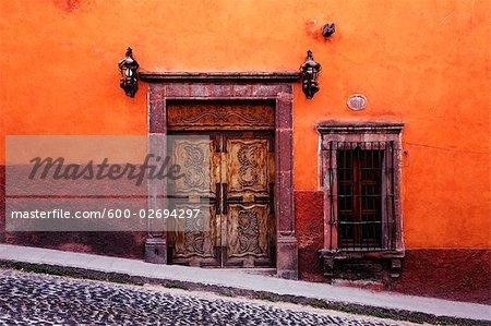 Doorway, San Miguel de Allende, Guanajuato, Mexico