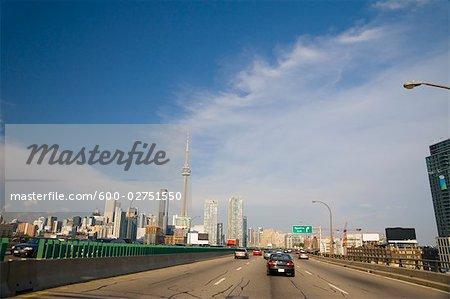 Gardener Expressway, Toronto, Ontario, Canada