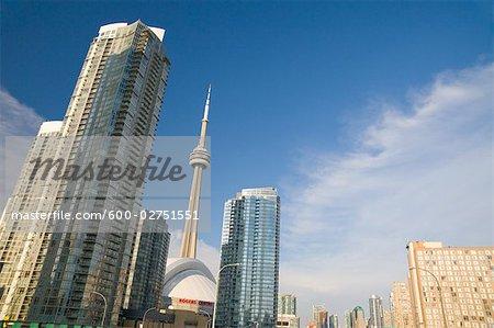View From Gardiner Expressway, Toronto, Ontario, Canada