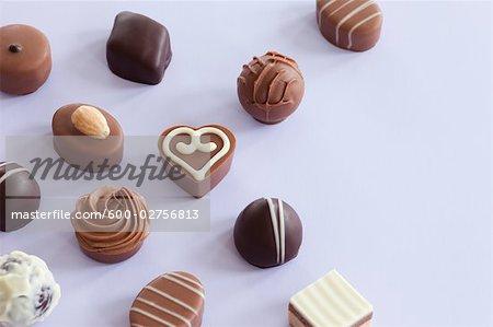 Still Life of Chocolates