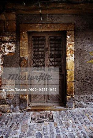 Old Door, San Nicolas, Spain
