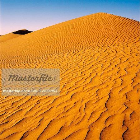 Desert, Red Sand Dune