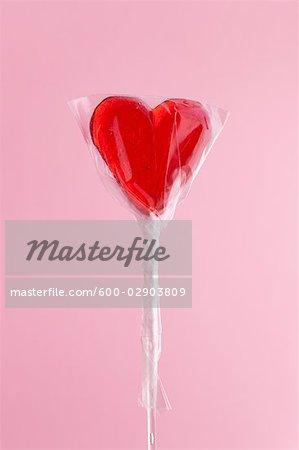 Heart-shaped Lollipop