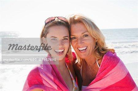 Women on Beach, Florida, USA