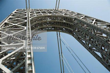 George Washington Bridge, New York City, New York, USA