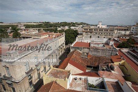 Overview of Old Havana, Cuba