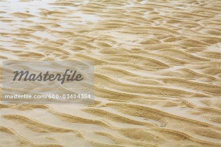 Patterns in Sand, Blankenberge, Flanders, Belgium
