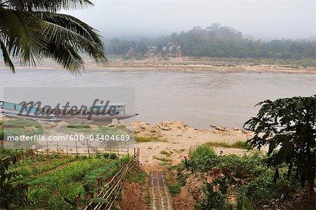 Mekong River, Luang Prabang, Louangphabang Province, Laos