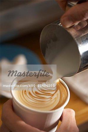 Making a Latte