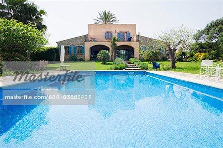 House Exterior, Mallorca, Balearic Islands, Spain