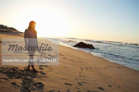 Woman at Beach, Baja California Sur, Mexico