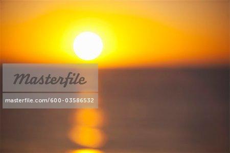 Sunset, Sea of Cortez, Baja California Sur, Mexico