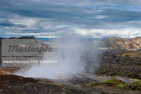 Steam Vent, Landmannalaugar, Iceland