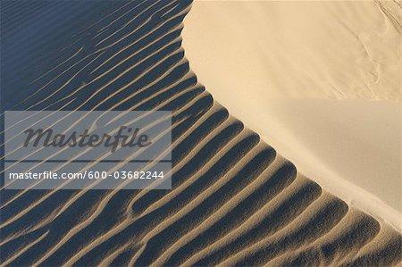 Ripples in Sand Dunes at Beach near Cadiz, Costa De La Luz, Cadiz Province, Andalusia, Spain