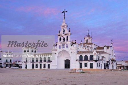 Ermita del Rocio, El Rocio, Huelva Province, Costa de la Luz, Andalusia, Spain