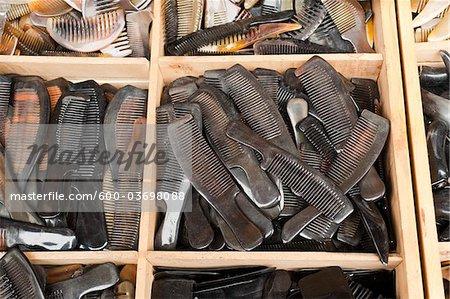 Combs, Panjiayuan Flea Market, Chaoyang District, Beijing, China