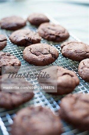Freshly Baked Gluten-free Chocolate Cookies