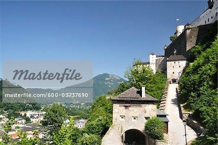 Hohensalzburg Castle, Salzburg, Salzburger Land , Austria
