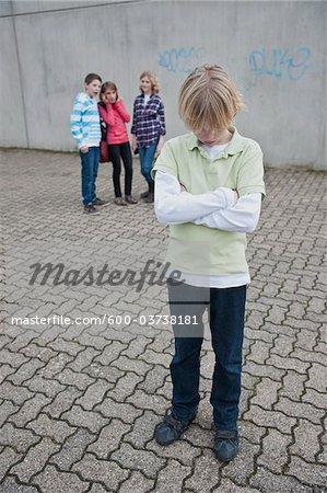 Teenagers, Mannheim, Baden-Wurttemberg, Germany