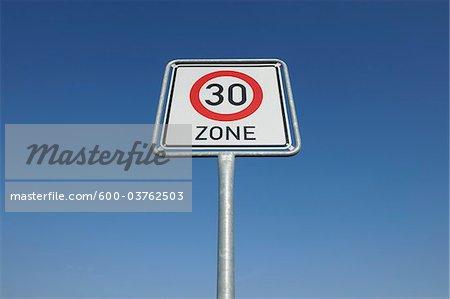 Traffic Sign, Hesse, Germany