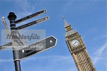 Big Ben, Westminster Palace, Westminster, London, England