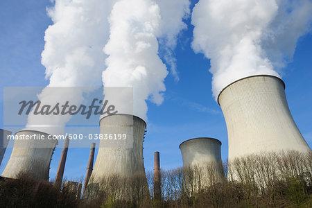 Neurath Power Station, North Rhine-Westphalia, Germany