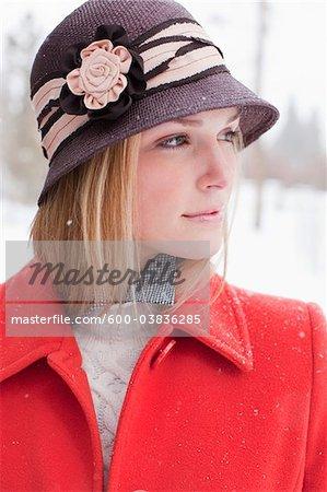 Portrait of Woman, Frisco, Summit County, Colorado, USA