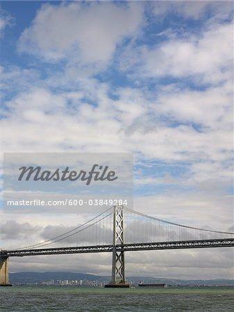 San Francisco-Oakland Bay Bridge, San Francisco Bay, San Francisco, California, USA