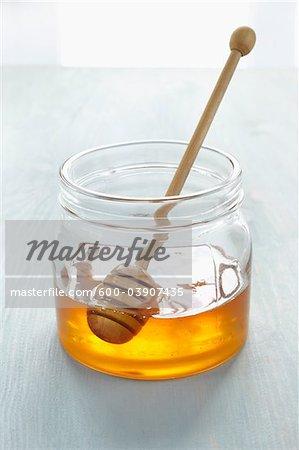 Honey Dipper in Jar