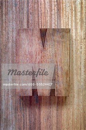Wooden Letterpress M