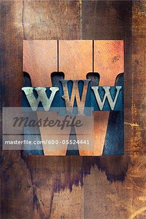 Letterpress W's