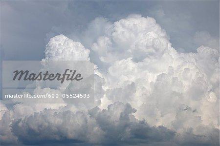 Cumulonimbus Clouds, Mont Ventoux, Carpentras, Vaucluse, Alpes-de-Haute-Provence, Provence, France