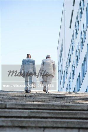 Businessmen, Mannheim, Baden-Wurttemberg, Germany
